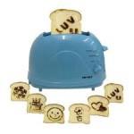 Тостер и рисунки на тостах